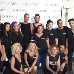 צוות רוית אסף בתצוגת האופנה של גולברי