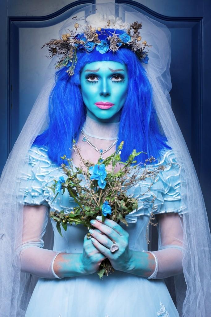 איפור לפורים בהשראת הסרט חתונת רפאים