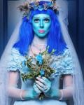 תמונה של קמפיין - איפור פנים מלא בכחול