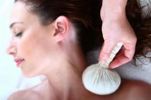 טיפול בשקיות צמחים בספא שיזן
