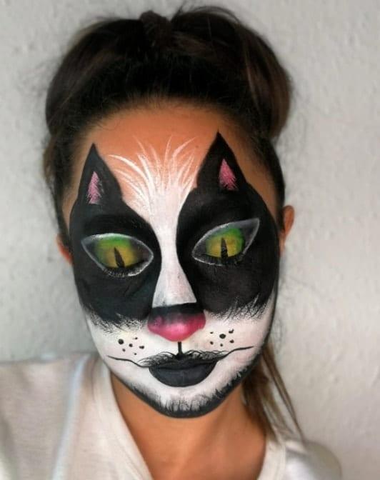 איפור מקצועי חתולה