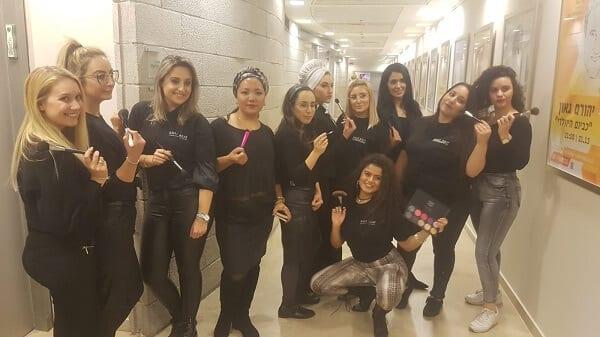 צוות מאפרות לתחרות - סבתוש ישראל 2019