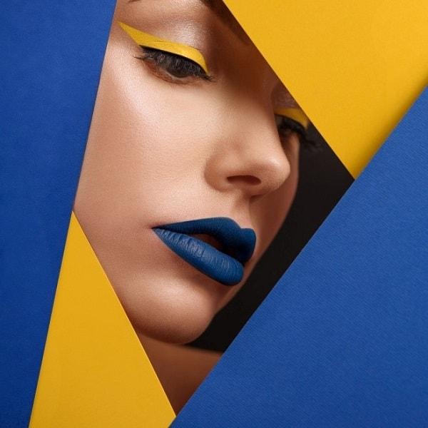 סטיילינג צהוב כחול