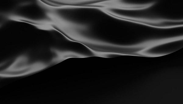 בד בצבע שחור