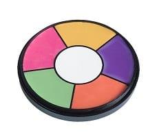 פלטת צבעי קורקטורים