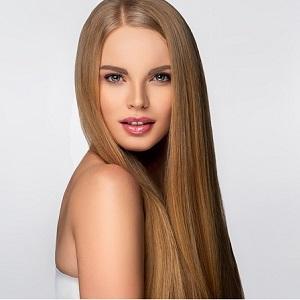 Beautiful,Model,Woman,With,Shiny,And,Straight,Long,Hair.,Keratin